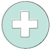 Symptom relief icon